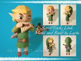 Spirit Tracks Link Papercraft by Lyrin-83