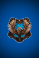 Ravenclaw iPhone wallpaper 1 by technoKyle
