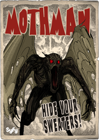 Syfy MM Mothman by Randoman92