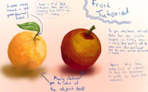 Fruits Tutorial by ArlanEAkyl
