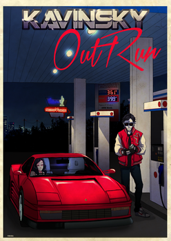 OutRun by andrableargh
