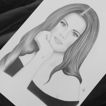 Selena Gomez by AndyVRenditions