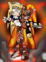 Levia and Infern together~ by SelTheQueenSeaia