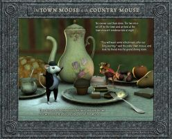 The Town Mouse and the Country Mouse 2/4 by falsedelic