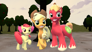 Apple Family by Hellhounds04