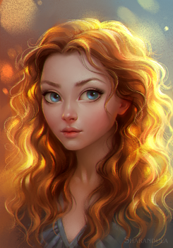 portrait by sharandula