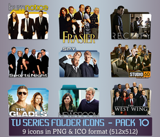 TV Series - Icon Pack 10 by apollojr