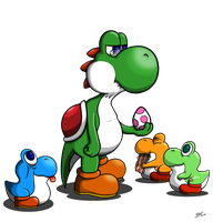Yoshi retired by blind-dancer