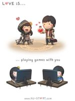 125. Love is... Playing Games by hjstory