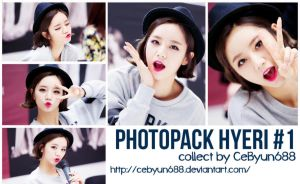 PHOTOPACK HYERI #1 by CeByun688