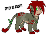 Rose Sphinx (Offer to Adopt) by 207-Designs