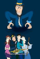 TDT of Lupin 3rd - Copertina del 2o Capitolo by DragonBellum92-DP