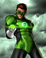 Hal Jordan - The Green Lantern by DarroldHansen