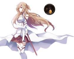 Sword Art Online Asuna - Render by Vertify