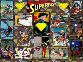 Superboy - The Return Of Superman SkyBox Card WP by Superman8193