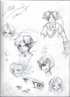 Link Sketches by fuzz-butt