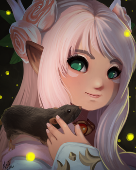 Commission: Niamh and Penelope by ultema