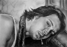 Johnny Depp Finished by indigomoonshine