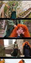 Hey! Brave ! Video cosplay by Re-Aska