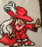 Red Mage Bead Sprite by AngrehToast