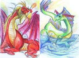 GhenghisCon Dragons by Risachantag
