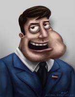 Stan Smith from American Dad by Sullyman
