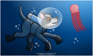 Diver Doggy by LordDominic