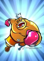 King Hippo Punch Out by DustinEvans