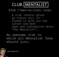 Club Mentalist poster by Marvelnerd23