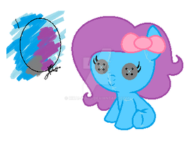 Egg Adopt Hatched (QueenBatgirl) by Spider-Adopts