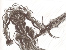 A Demon Swordsman by FreeTheCows