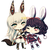 commission -- Shirogane and Orihime (+timelapse) by onisuu
