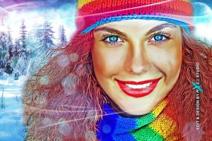 color girl by arsalan-design