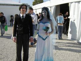 COSPLAY The Corpse Bride by valelotus