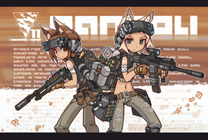 Automatic infantry by nancou