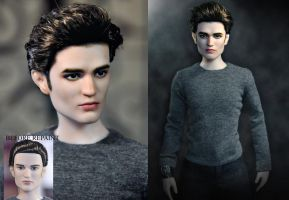 Doll Repaint - Edward Cullen by noeling