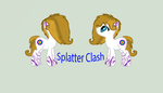 Ask Splatter Clash/Ref NEW PONYSONA by banditandshastagal