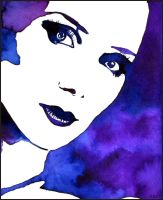 Painting- Simone Simons I. by Ennete