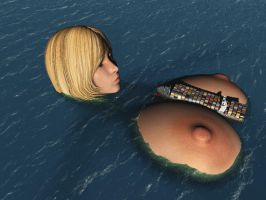 Vue giantess 32 by nyom87