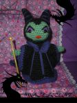 Maleficent amigurumi by elbuhocosturero