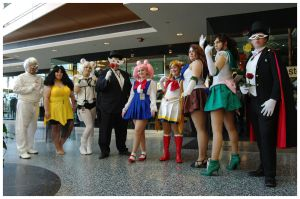 Youmacon 2011: Sailor Moon Group by LadyEmrys