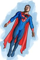 Created superman costume by ez31