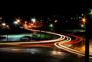 Morgantown Streets by Bawwomick