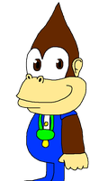 Kiddy Kong (requested) by LMF100
