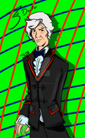 Third Doctor- Comic Style by ThetaSigmaIV