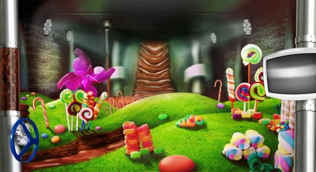 Chocolate Factory by Karllis