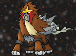 Entei Holo by VernFeathers