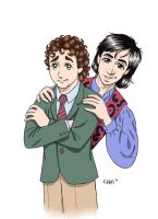 Balki and Larry Manga-fied by chill13