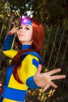 Jean Grey 90s Cosplay: Attack by firecloak