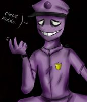 The purple guy by Welcome2TheShow